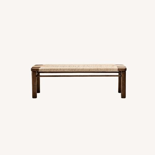 Used Four Hands Hylia Bench for sale on AptDeco