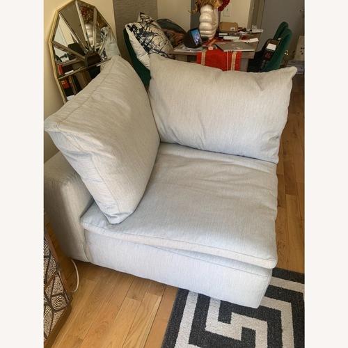 Used Arhaus Cozy Corner Sectional Chair for sale on AptDeco