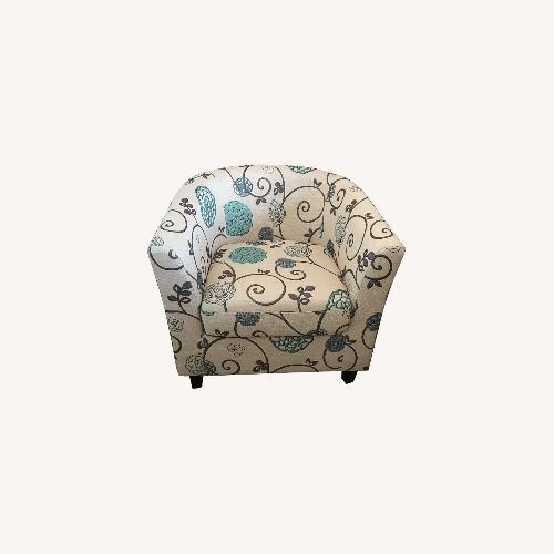 Used Joss & Main Dakota Fields Beige Accent Chair for sale on AptDeco
