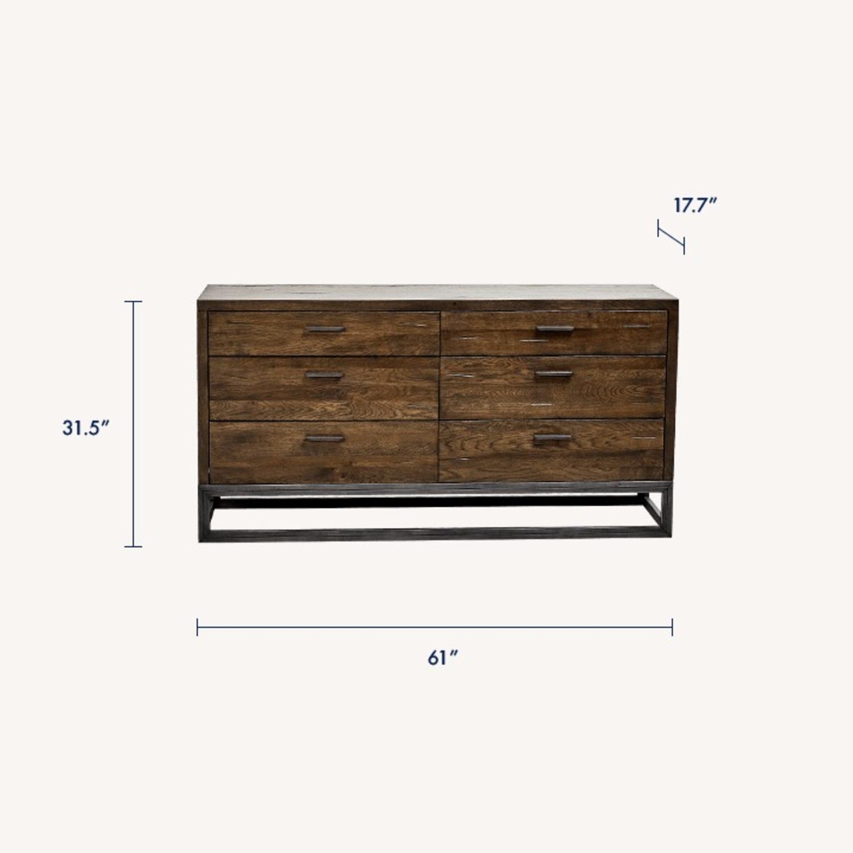 LH Imports Parula 6-Drawer Dresser - image-1
