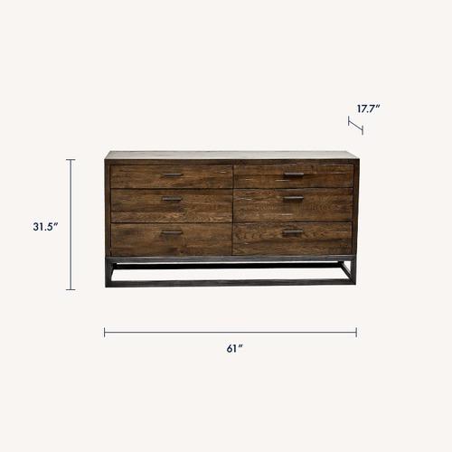 Used LH Imports Parula 6-Drawer Dresser for sale on AptDeco