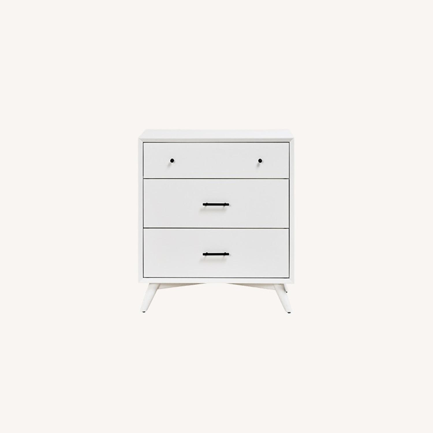 Feather Akepa Dresser WHITE - image-0
