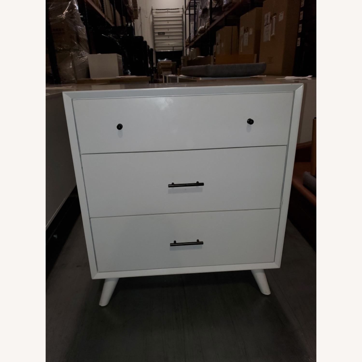 Feather Akepa Dresser WHITE - image-5