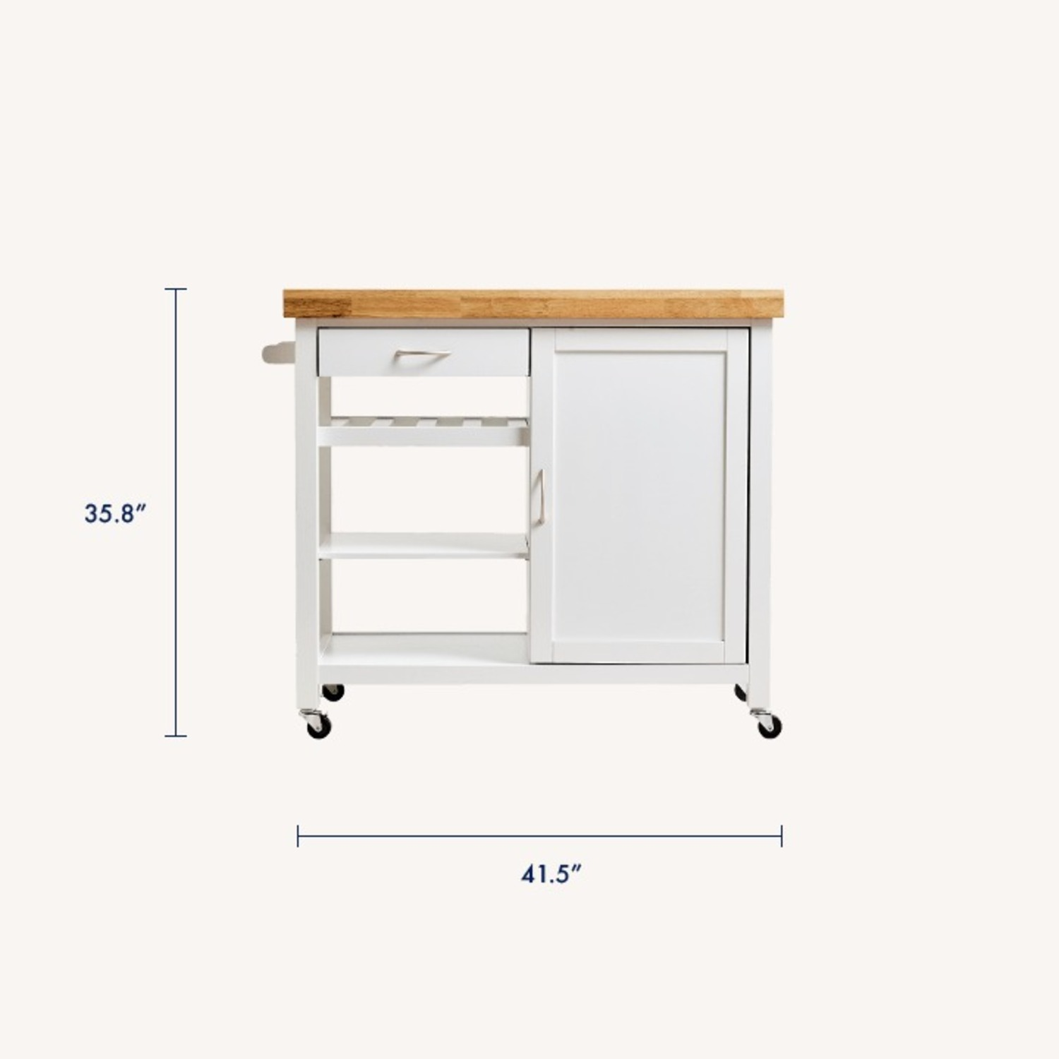 Feather Currawong Kitchen Cart - image-4