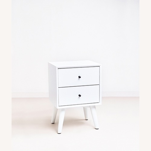 Used Feather Akepa Nightstand WHITE for sale on AptDeco