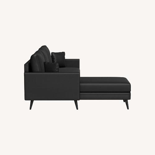 Used Inside Weather Custom Issa Sectional in Onyx for sale on AptDeco