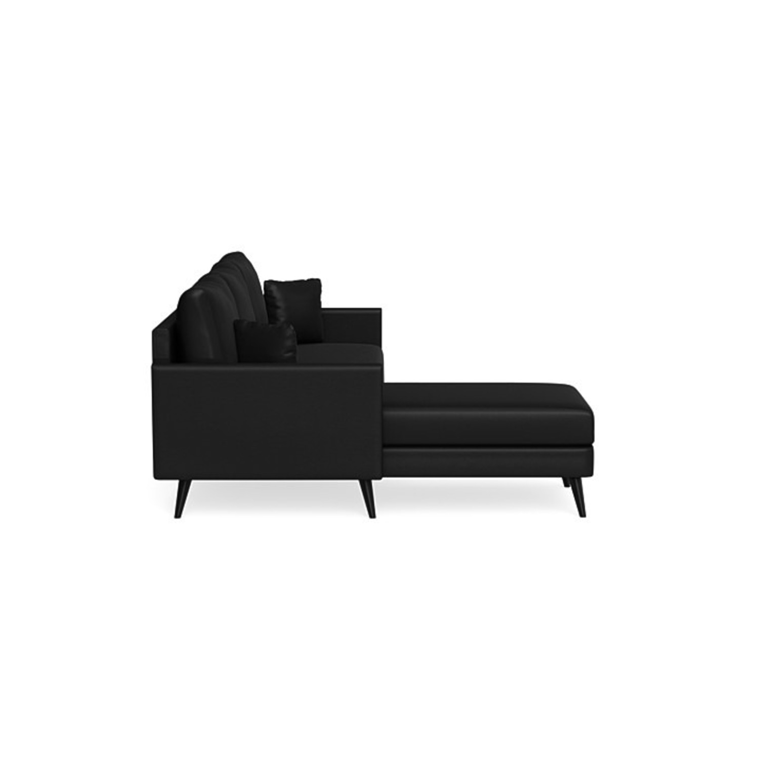 Inside Weather Custom Issa Sectional in Onyx - image-2