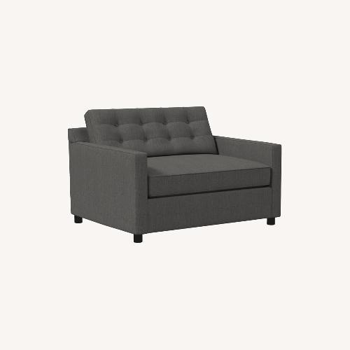Used West Elm Drake Chair and a Half Sleeper for sale on AptDeco