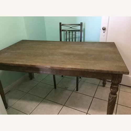 Used Stratford Dining Table with Chairs for sale on AptDeco