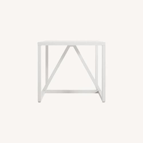 Used Blu Dot Strut Side Table in White for sale on AptDeco