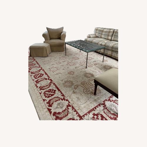 Used Stark Carpet Beige and Rust Persian Carpet for sale on AptDeco
