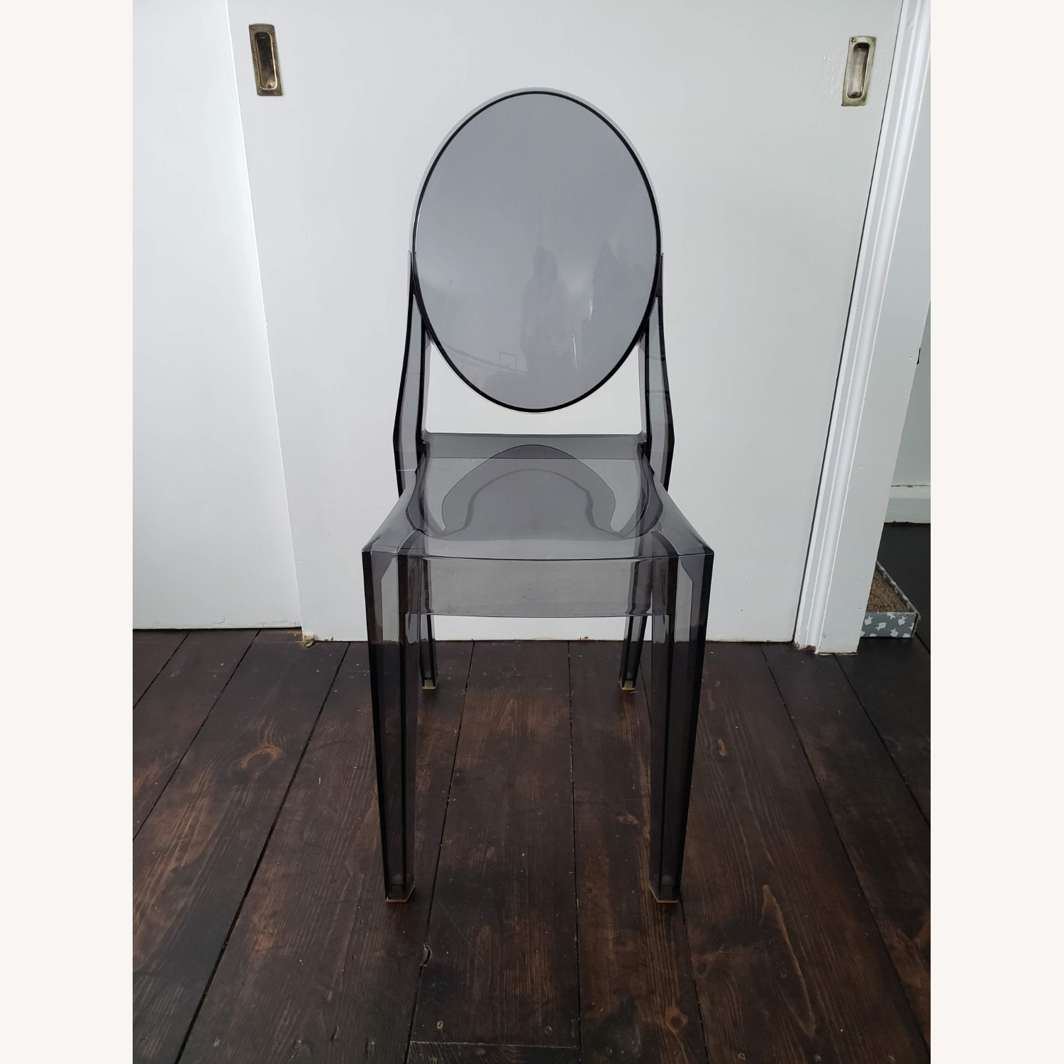 Kartell Victoria Ghost Chair in Smoke Grey - image-3