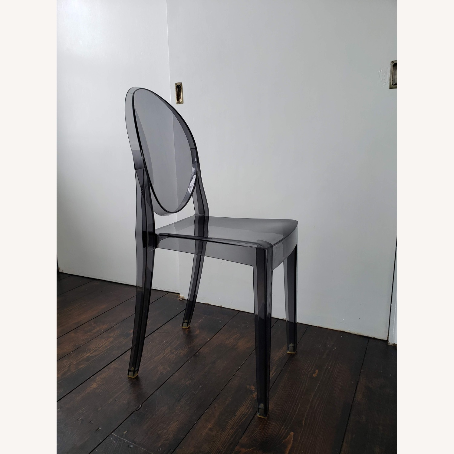 Kartell Victoria Ghost Chair in Smoke Grey - image-2