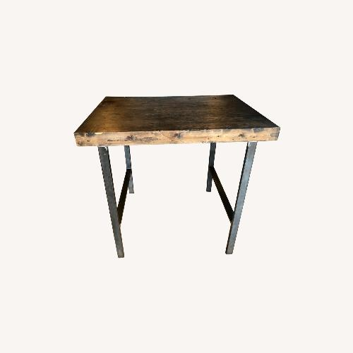 Used Hand Crafted Reclaimed Wood Table for sale on AptDeco