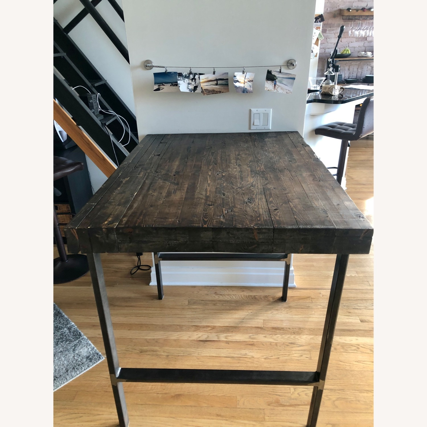 Hand Crafted Reclaimed Wood Table - image-1