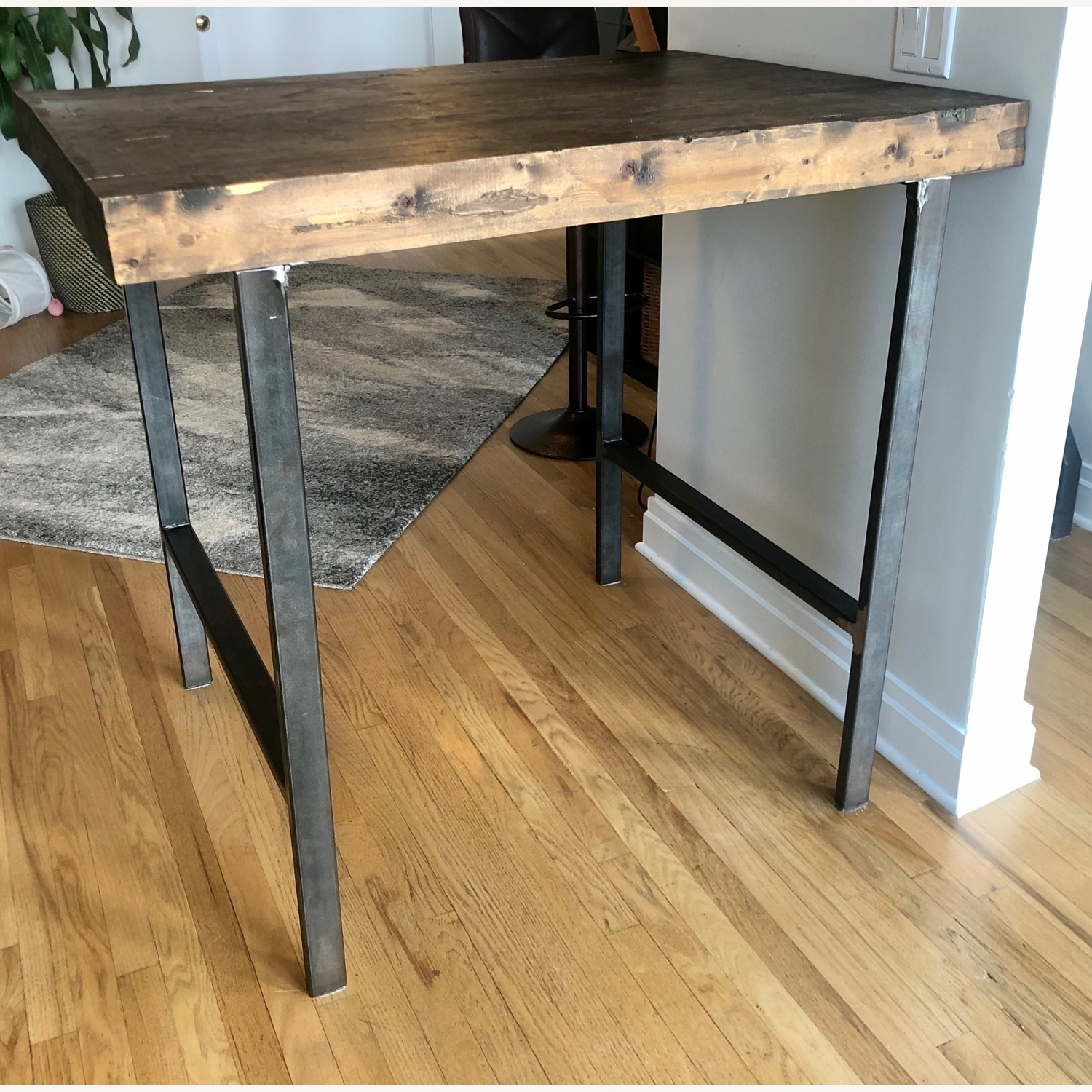 Hand Crafted Reclaimed Wood Table - image-2