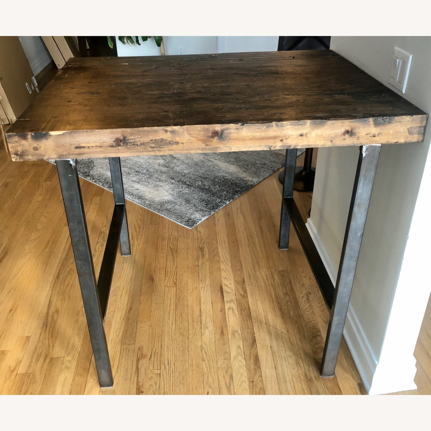 Hand Crafted Reclaimed Wood Table - image-3