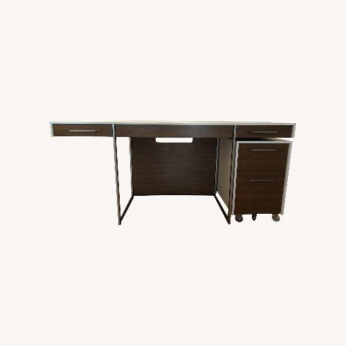 Used BDI Format Desk and Mobile File Pedestal for sale on AptDeco