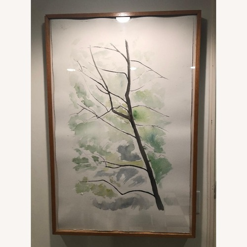 Used Tree Watercolor Print for sale on AptDeco