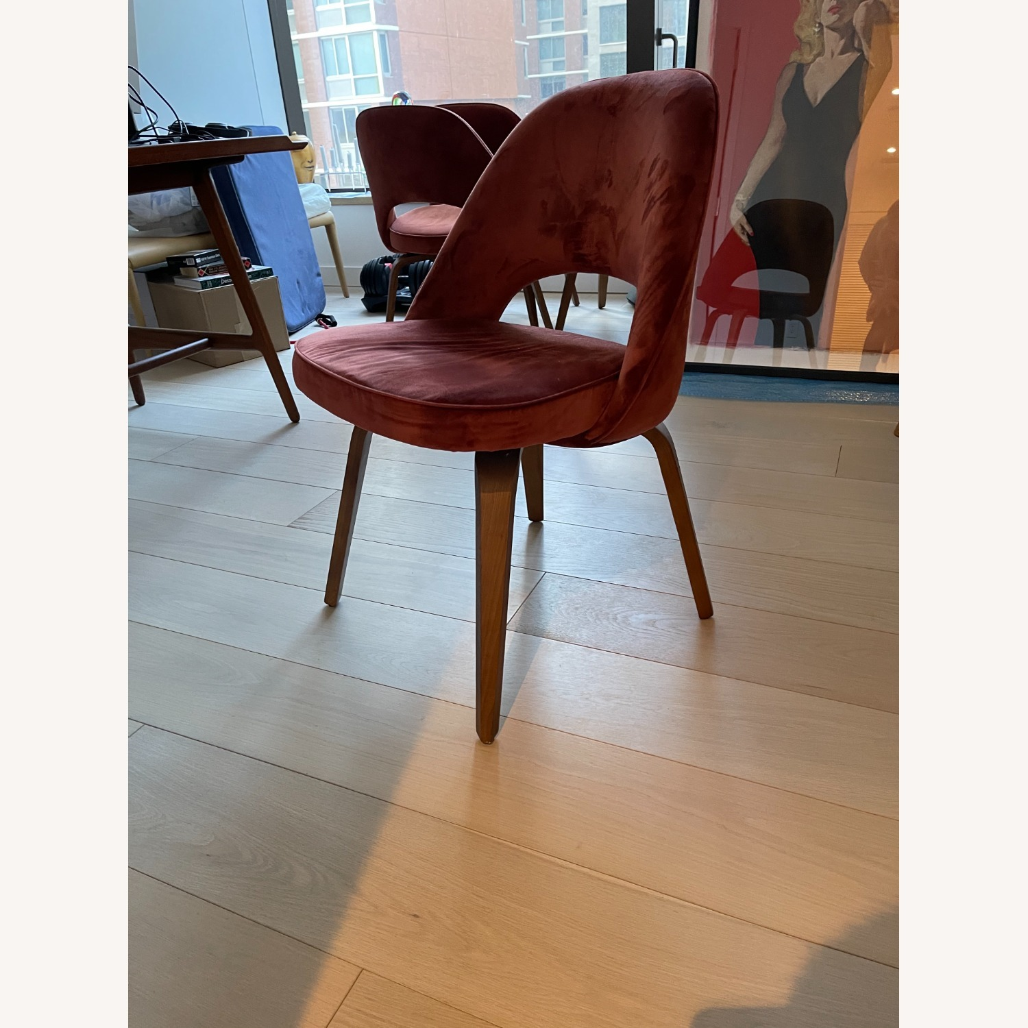 Knoll Reproduction Dining Chairs - image-1