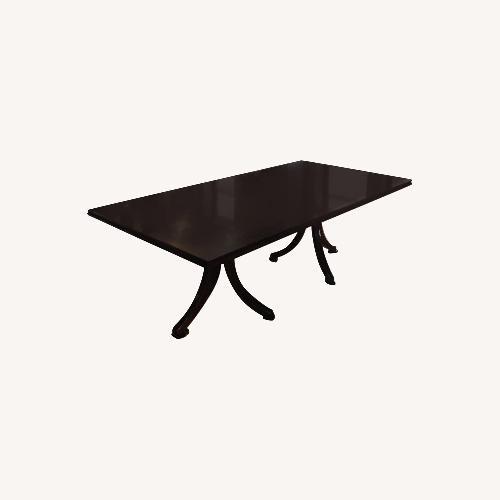 Used Baker Laura Kirar Vienna Dining Table for sale on AptDeco