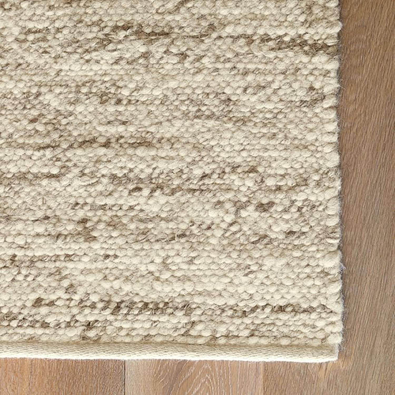 West Elm Sweater Rug - Oatmeal - image-3