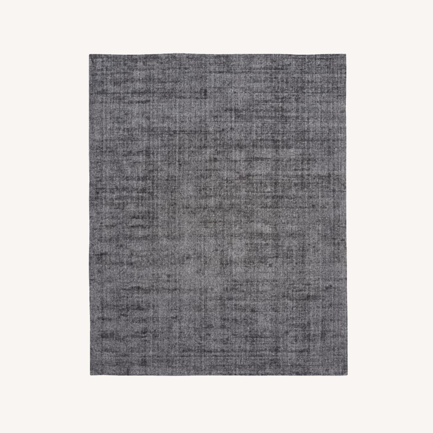 West Elm Patina Shine Rug Asphalt - image-0