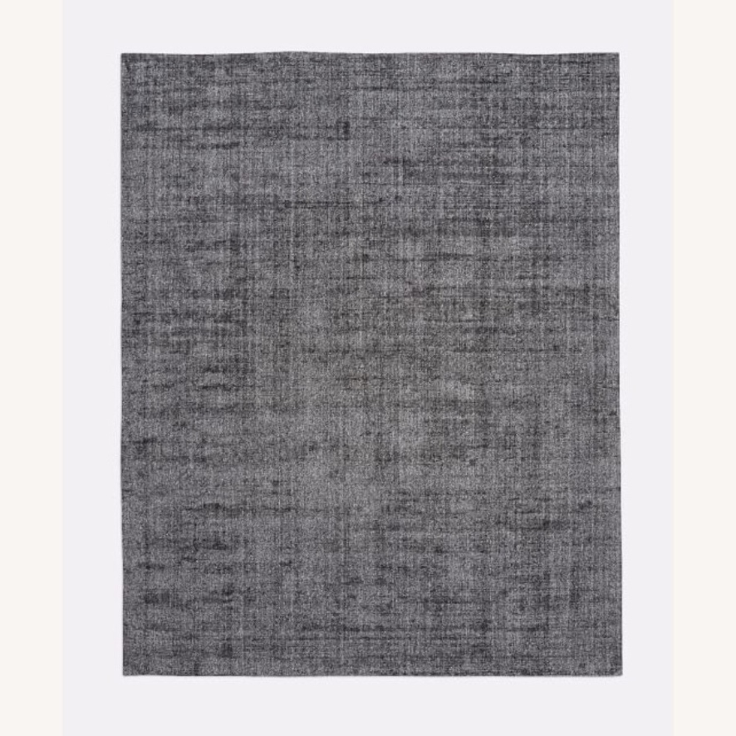 West Elm Patina Shine Rug Asphalt - image-1