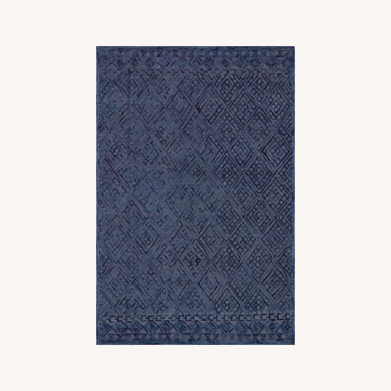 Navy Area Rug - image-0