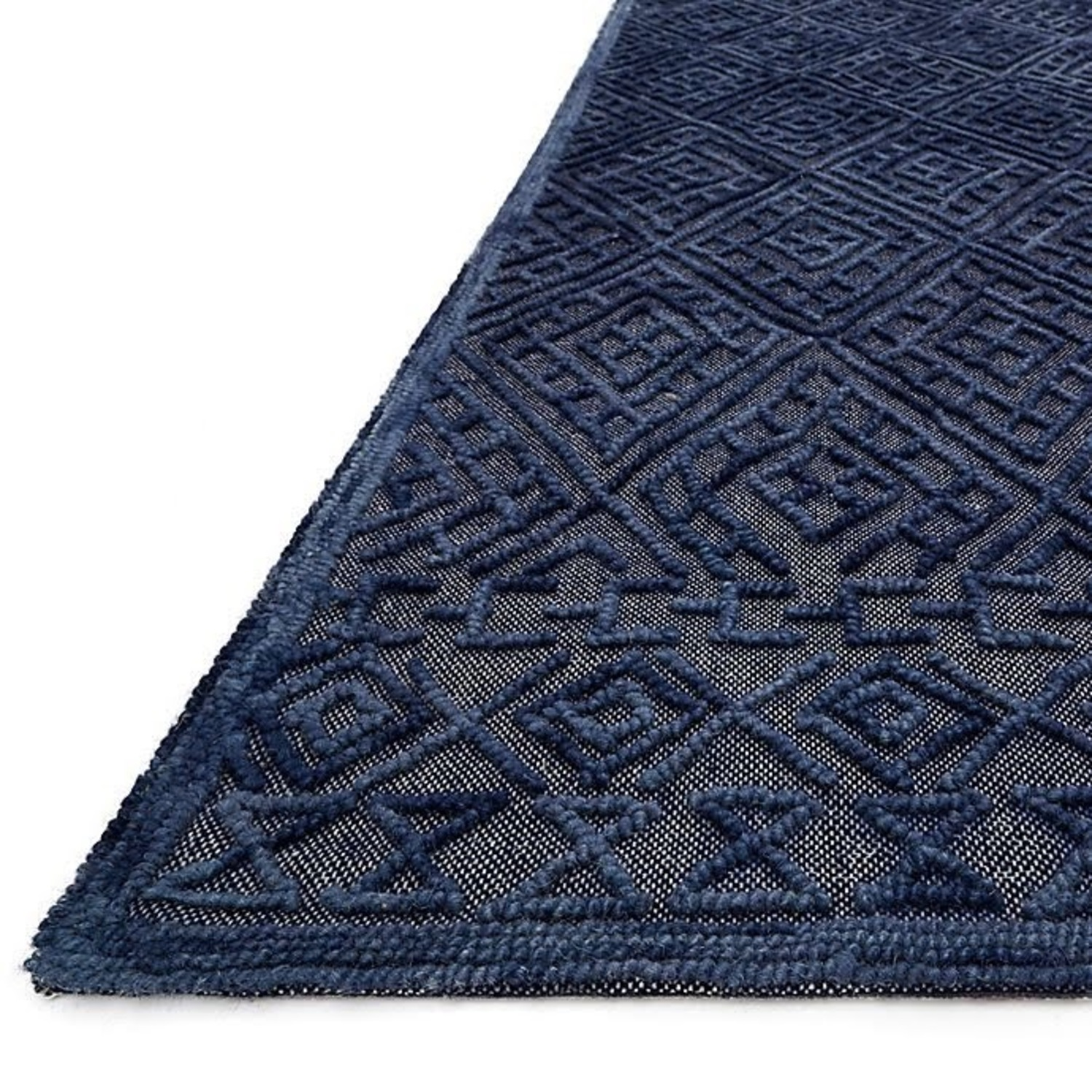 Navy Area Rug - image-1