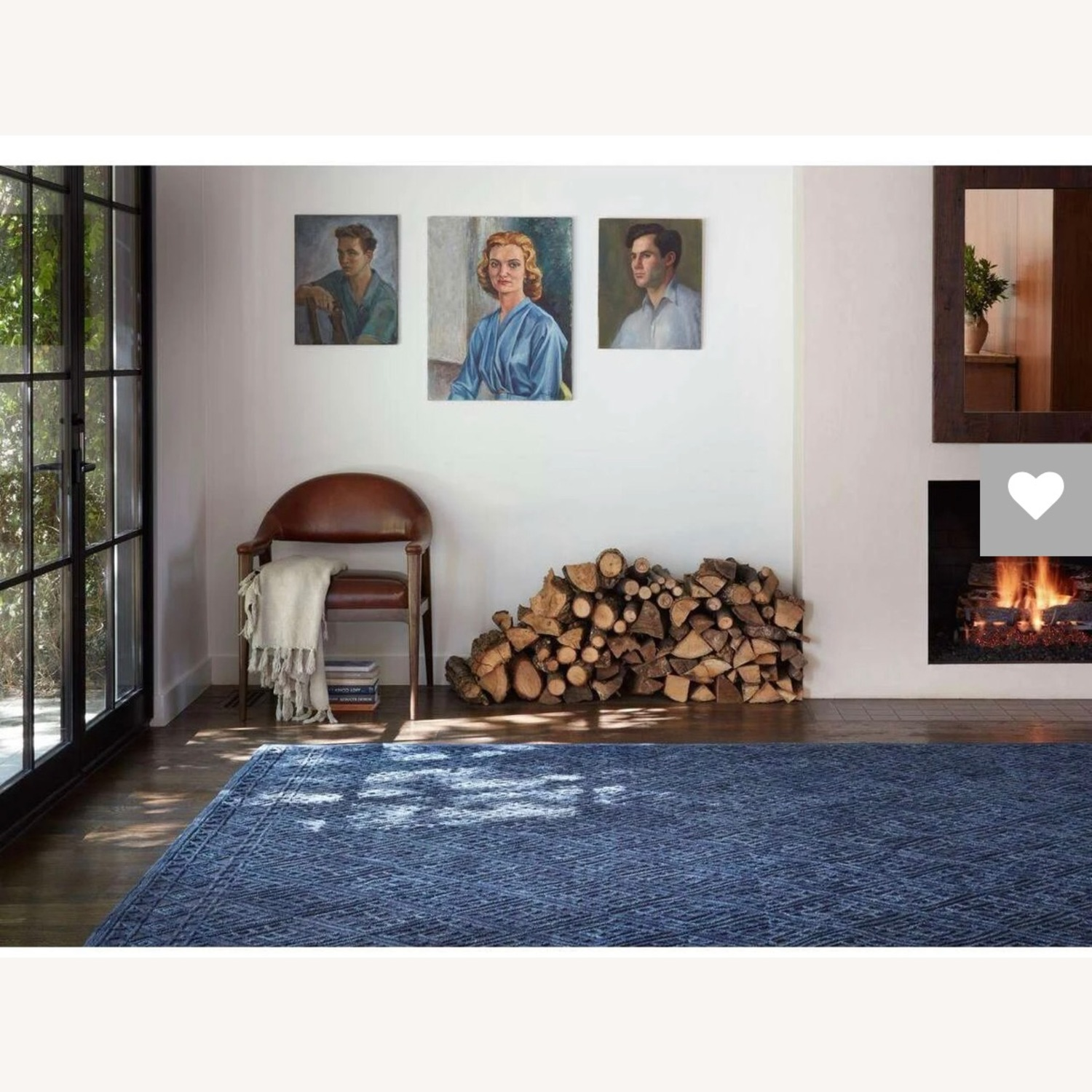 Navy Area Rug - image-2