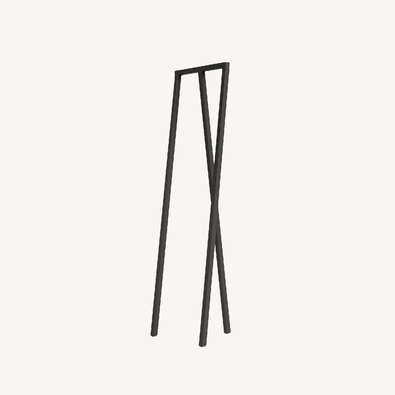 HAY Loop Stand Minimalist Clothing Rack in Black - image-0
