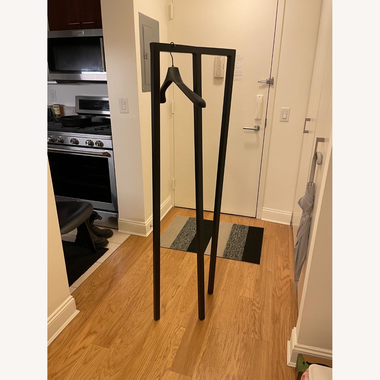 HAY Loop Stand Minimalist Clothing Rack in Black - image-10