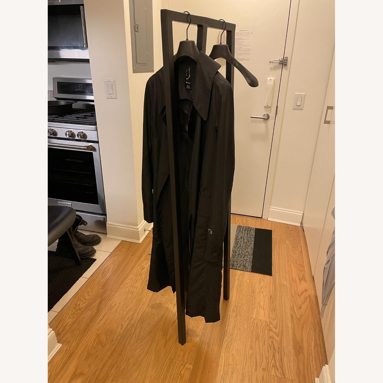 HAY Loop Stand Minimalist Clothing Rack in Black - image-9
