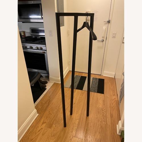 Used HAY Loop Stand Minimalist Clothing Rack in Black for sale on AptDeco