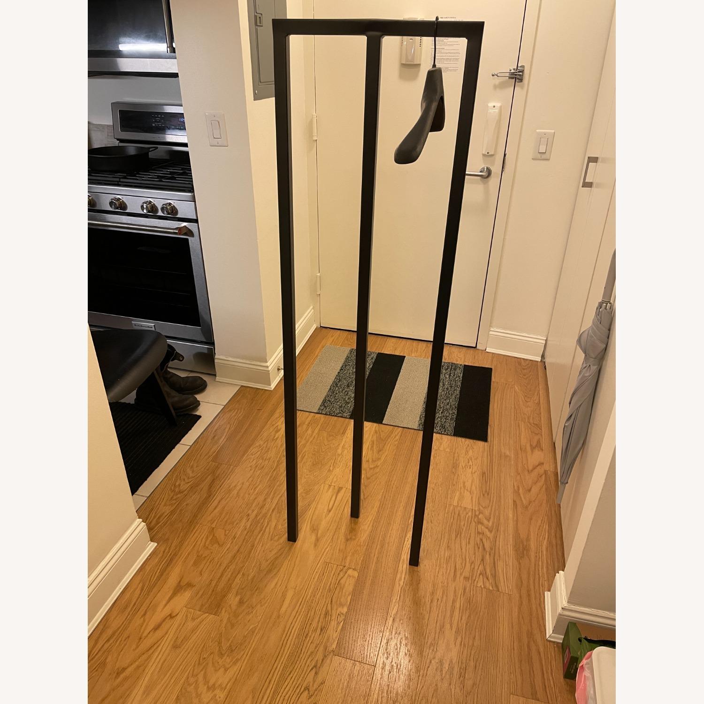 HAY Loop Stand Minimalist Clothing Rack in Black - image-2