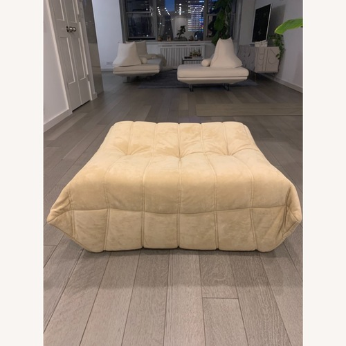 Used Ligne Roset French Designer Ottoman for sale on AptDeco