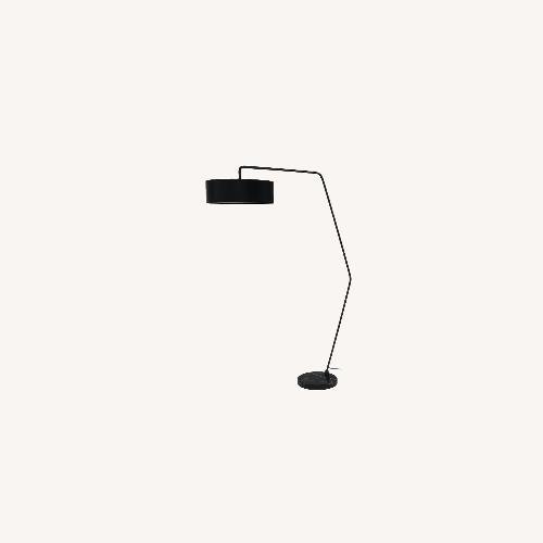 Used Article Heron Black Large Floor Lamp for sale on AptDeco