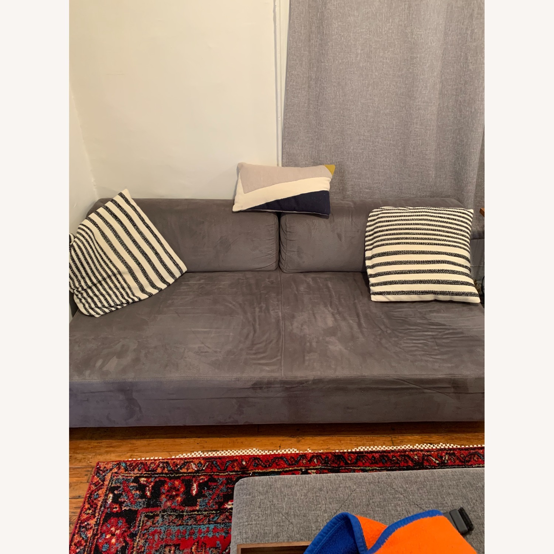 West Elm Tillary Sofa in Gray - image-1
