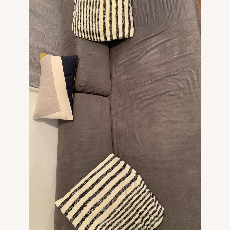 West Elm Tillary Sofa in Gray - image-3
