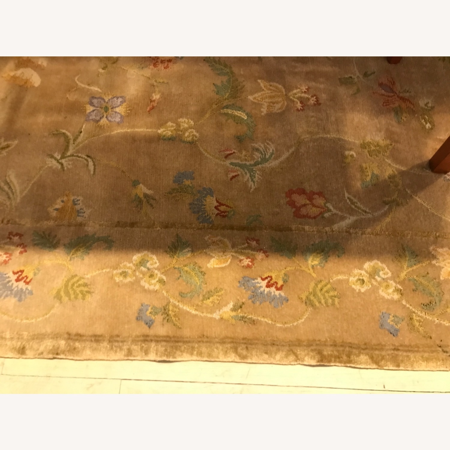 Handknotted Woolyn And Silk Rug - image-2