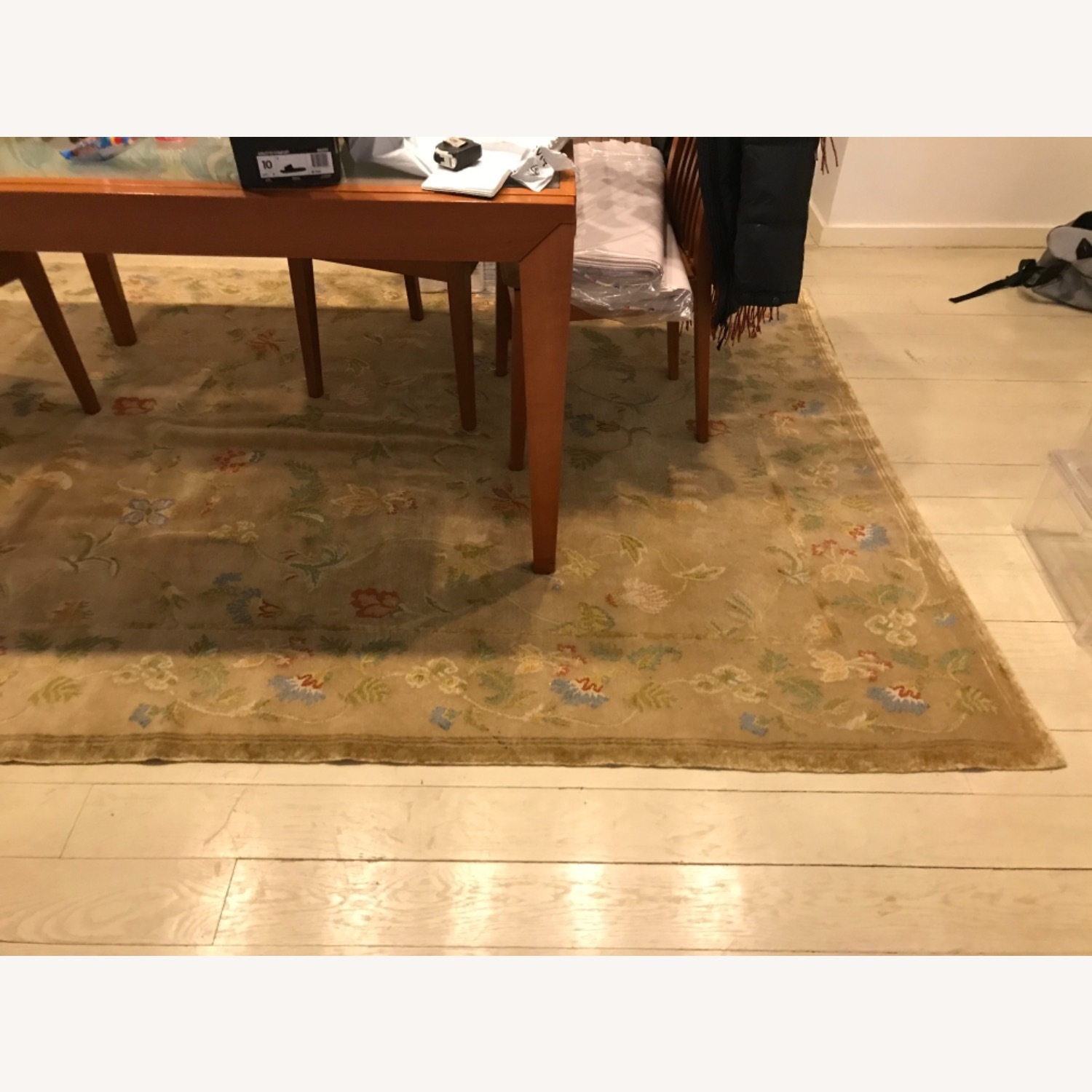 Handknotted Woolyn And Silk Rug - image-3