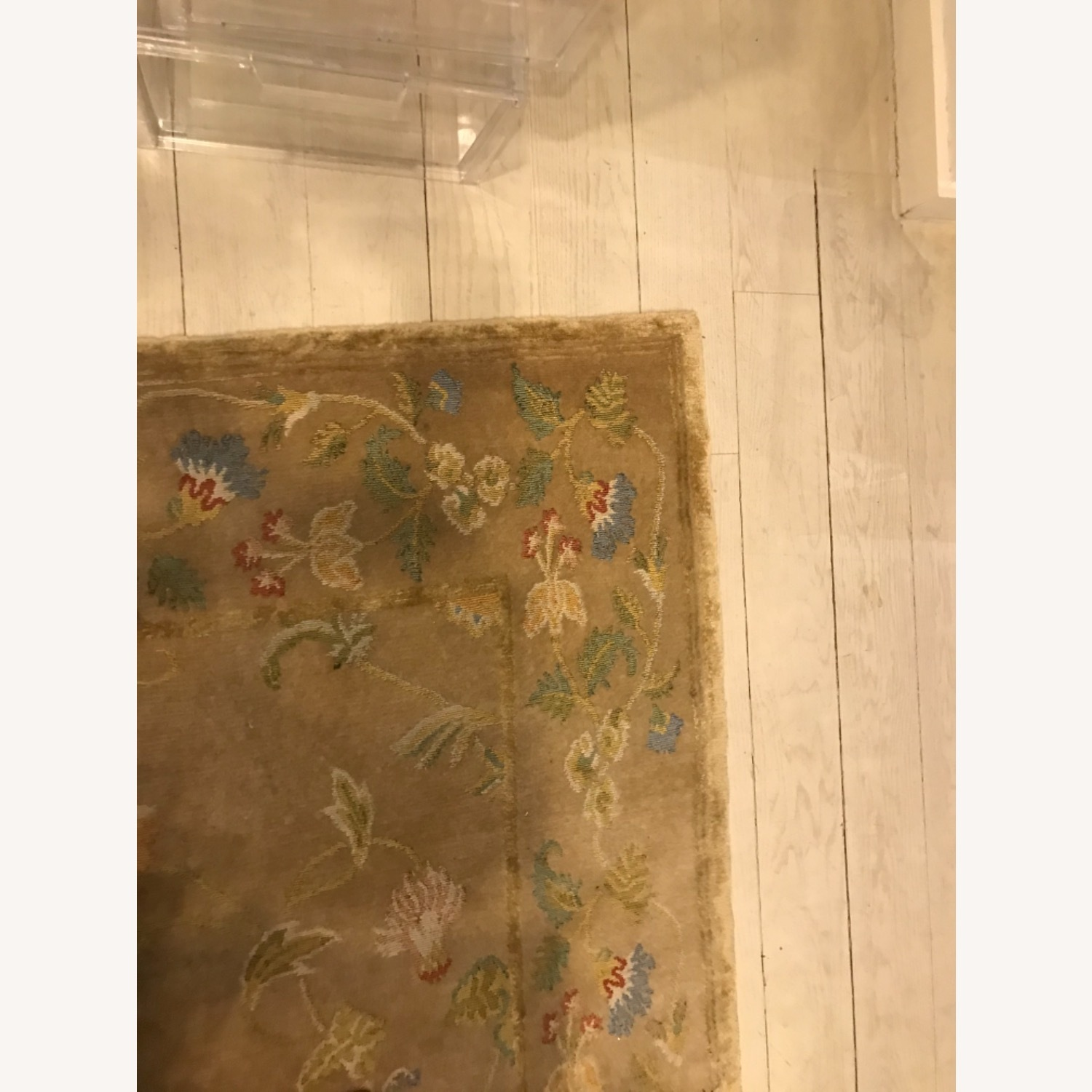 Handknotted Woolyn And Silk Rug - image-5