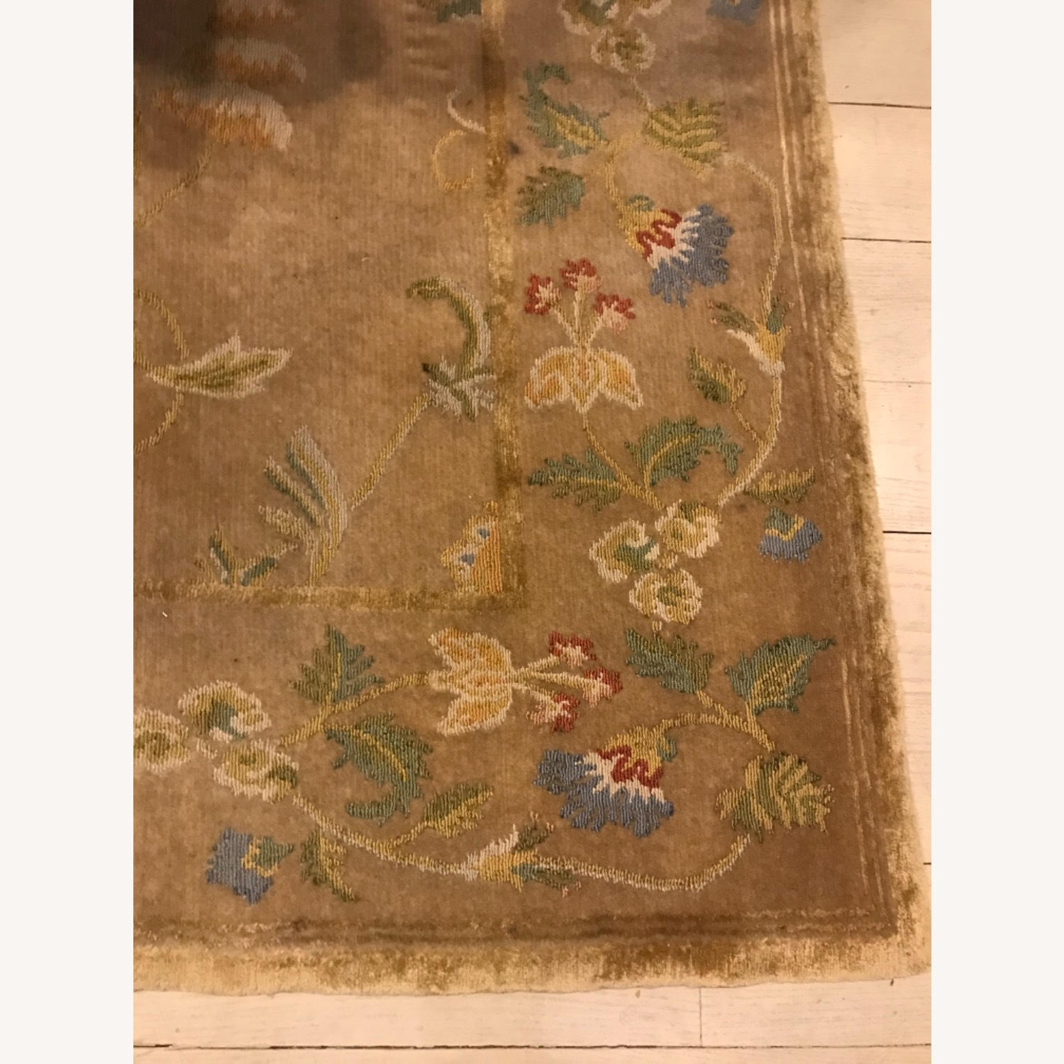 Handknotted Woolyn And Silk Rug - image-1