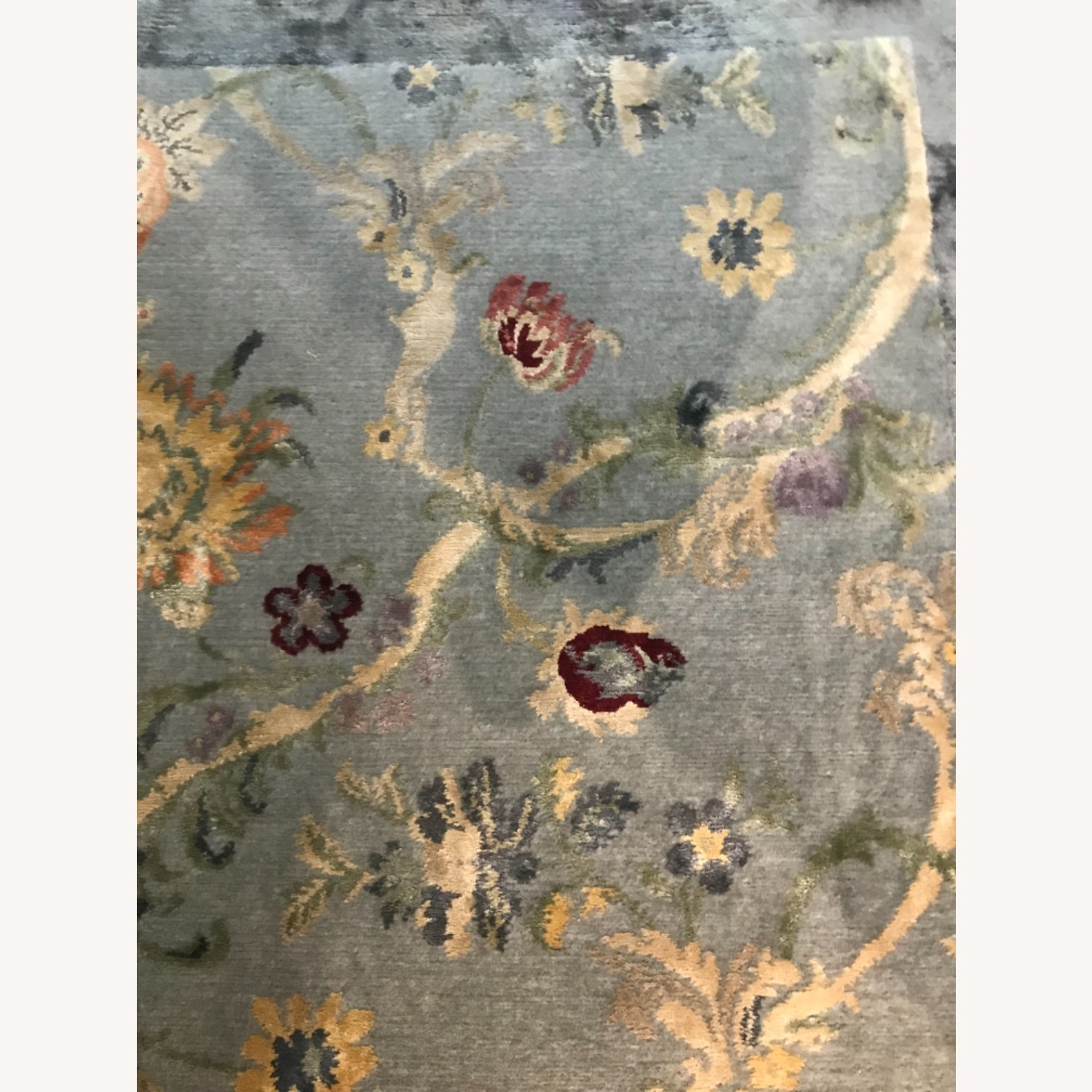 Handknotted Woolyn And Silk Rug - image-6