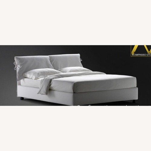 Used Custom King Nathalie Bed by Flou for sale on AptDeco