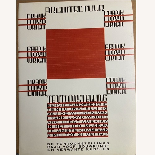 Used Frank Lloyd Wright Gallery Poster for sale on AptDeco