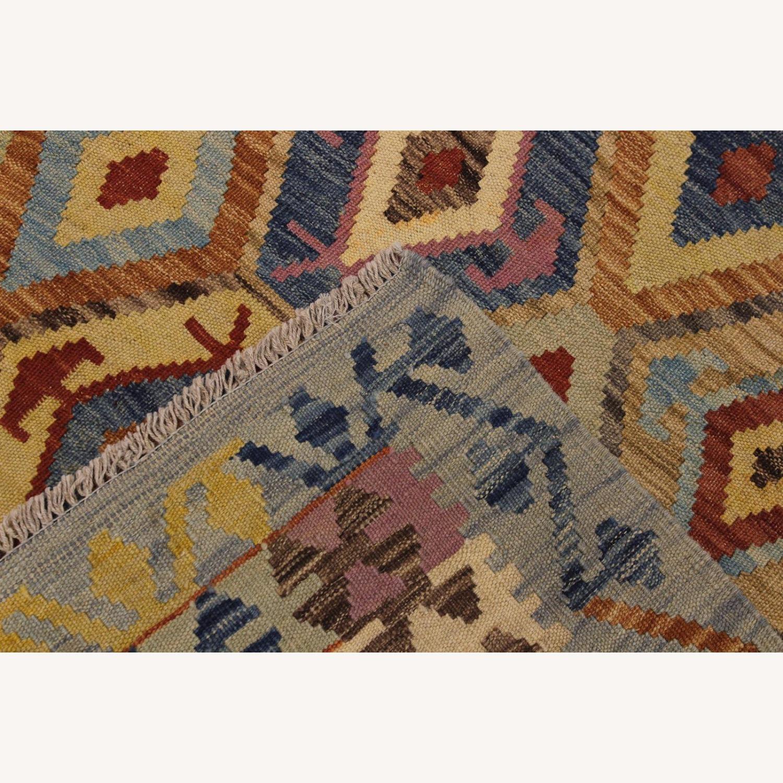 Arshs' Fine Rugs Navaho Vintage Kilim Rug 6'8 x 9'3 - image-6