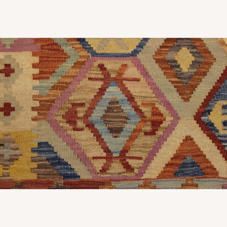 Arshs' Fine Rugs Navaho Vintage Kilim Rug 6'8 x 9'3 - image-4