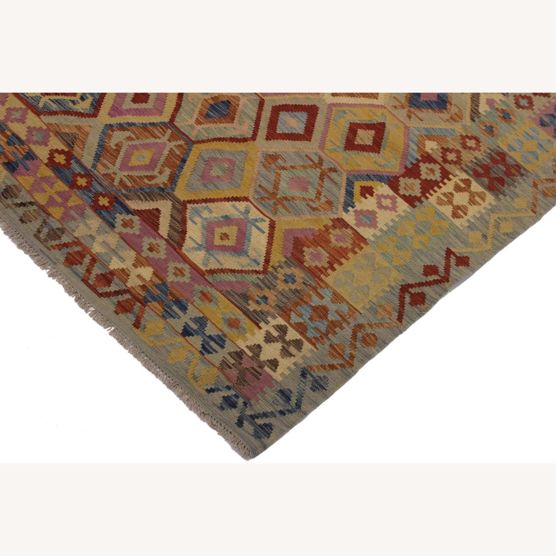 Arshs' Fine Rugs Navaho Vintage Kilim Rug 6'8 x 9'3 - image-3